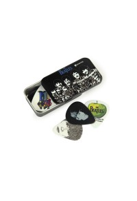 PLANET WAVES - 1CAB4-15BT3 Beatles Signature Guitar Pick Tins, Sgt. Peppers, Medium