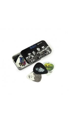 PLANET WAVES - 1CAB4-15BT3 Beatles Signature Guitar Pick Tins, Sgt. Peppers, Medium