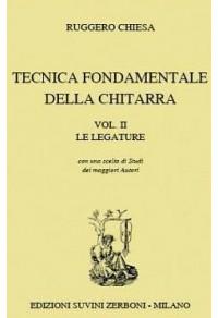 CHIESA TECNICA FONDAMENTALE DELLA CHITARRA LE LEGATURE