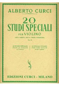 CURCI 20 STUDI SPECIALI PER VIOLINO Op 24