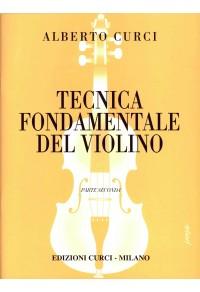 CURCI TECNICA FONDAMENTALE DEL VIOLINO PARTE SECONDA