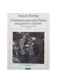RODRIGO CONCIERTO PARA UNA FIESTA
