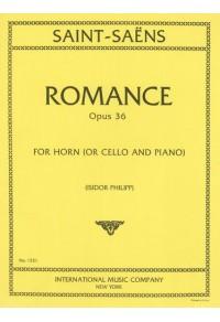 SAINT-SAËNS ROMANCE OPUS 36
