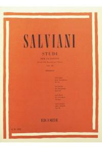 SALVIANI STUDI PER SAXOFONO 3