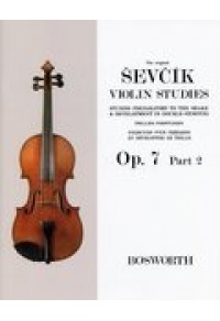 SEVCIK VIOLIN STUDIES Op 7 PART 2