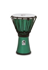"TOCA DJEMBE 7"" FREESTYLE METALLIC GREEN"