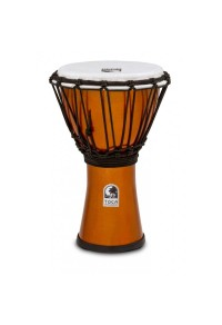 "TOCA DJEMBE 7"" FREESTYLE METALLIC ORANGE"