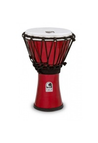 "TOCA DJEMBE 7"" FREESTYLE METALLIC RED"