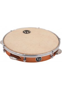 LATIN PERCUSSION LP3010N - BRAZILIAN WOOD PANDEIRO WITH NATURAL HEAD