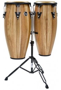 LATIN PERCUSSION LPA646-SW - ASPIRE JAMJUREE WOOD CONGAS SET