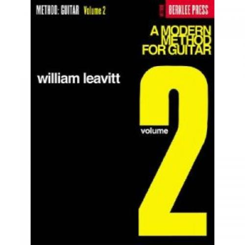 LEAVITT A MODERN METHOD FOR GUITAR 2